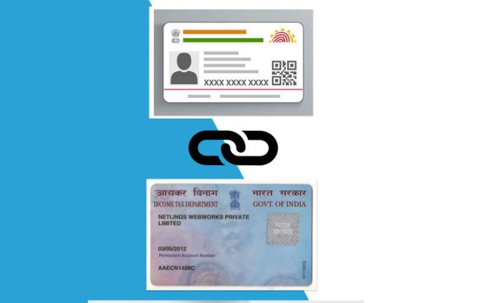 how to link pan to aadhaar